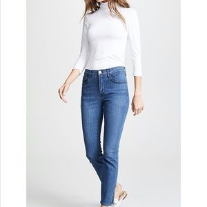 3x1 Luna Mini Split Hem Jeans